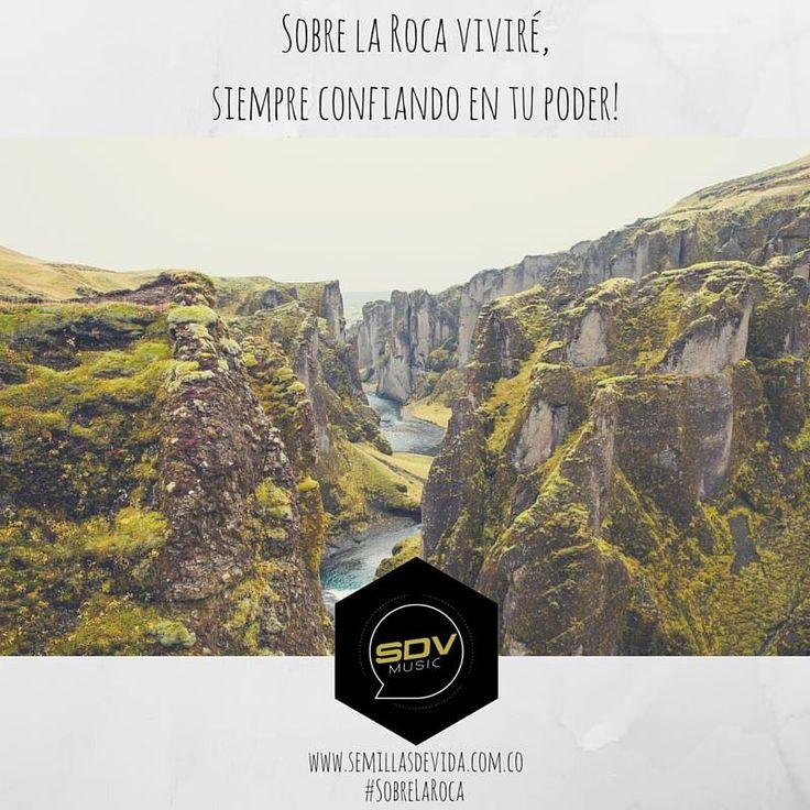 #SobreLaRoca en las principales plataformas digitales: #Spotify #Dezzer #ITunes #GooglePlay #Amazon