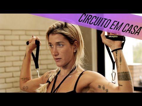 CIRCUITO DE EXERCÍCIOS DENTRO DE CASA COM GABRIELA PUGLIESI | NEVER STOPS - YouTube