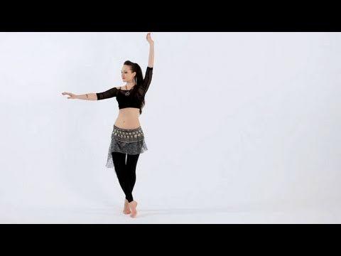 How to Do a Traveling Twist | Belly Dancing - Como hacer un toque Viajar | Danza del vientre