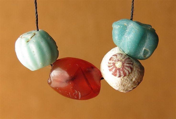 Pärlor från vikingatid/medeltid