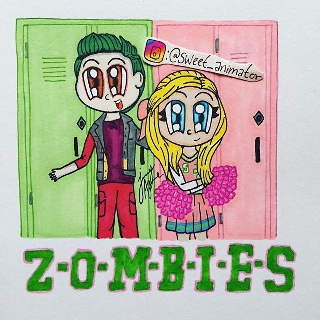 Pin De Thaissa De La Cruz En Etiquetas Con Imagenes Zombie