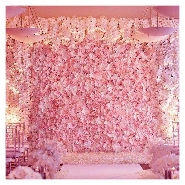 Silk Hydrangea Flowers Wedding Party Wall Backdrop Panel Flower Wall Wedding Flower Wall Wall Backdrops
