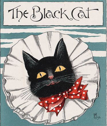 The black cat, April 1896.  Boston, Mass.