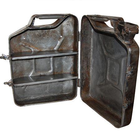 Kastje metaal jerrycan