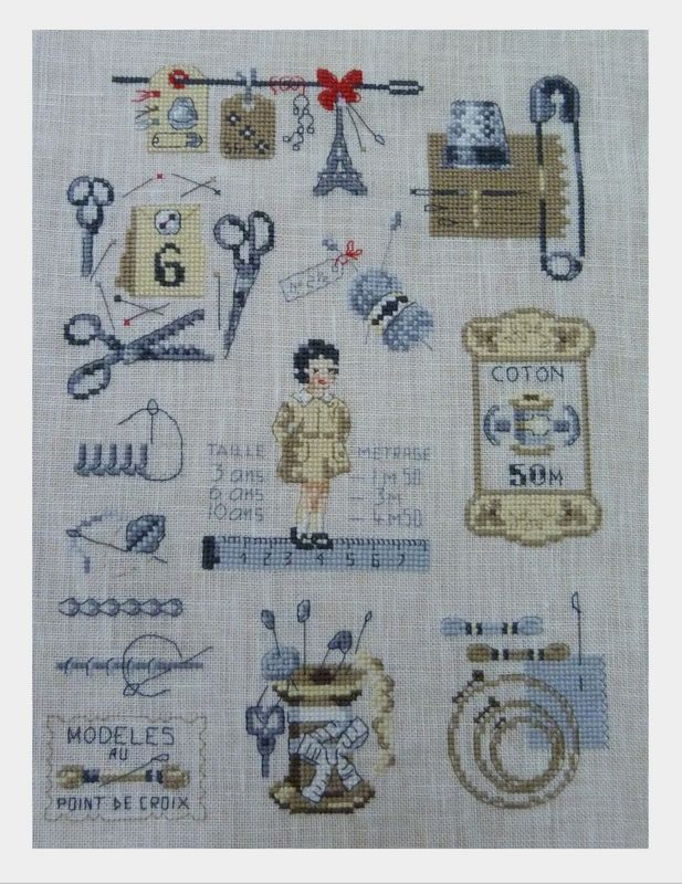 Brodeuses Parisiennes, awesome stitchery and detail.