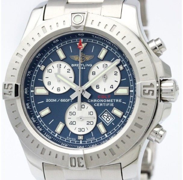 Breitling Colt Quartz Stainless Steel Men