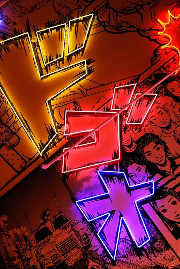 Pin by Eric W. on Neon in 2019 | Nightclub design ...