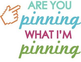 Are you pinning What I'm pinning?