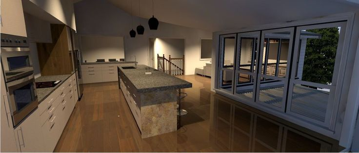 A beautiful kitchen designed by Focus Architecture.