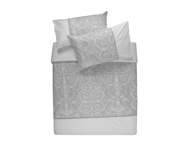 Duvets and comforters in all shapes, sizes, colours and patterns | Filigree Stripe Mono Duvet set | R139.99