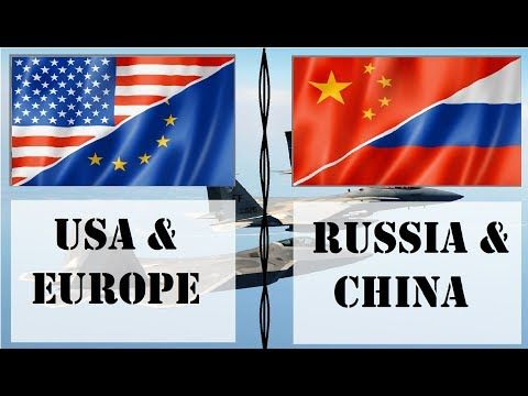 USA & Europe VS Russia & China | Military Comparison - YouTube ...