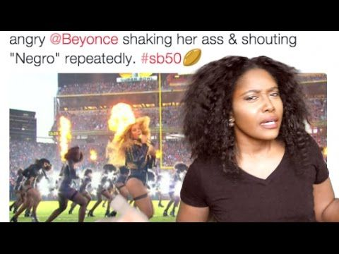 #SB50 Beyoncé Is Racist & Cam Newton's Bad Attitude - YouTube