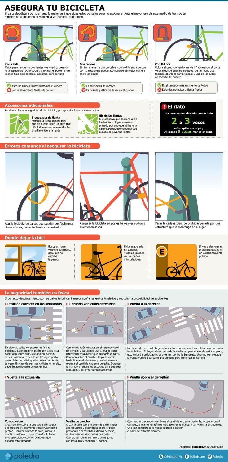Estaciona tu bici sin temor a un robo | Poliedro.mx  - I lost 26 pounds from here EZLoss DOT com #products #fitness