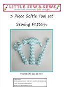 3 Piece Softie Tool Set PDF Sewing Pattern