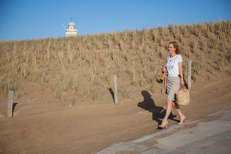 Tijd voor een kopje koffie op het strand, www.marjoleinelisabeth.nl