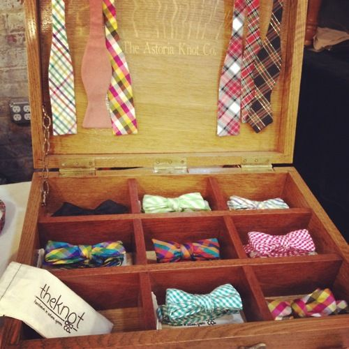 Bowtie Storage Box I Need This!