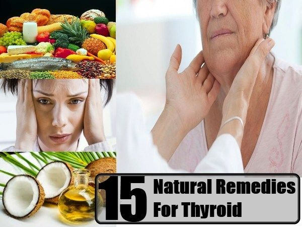 15 Natural Remedies For Thyroid