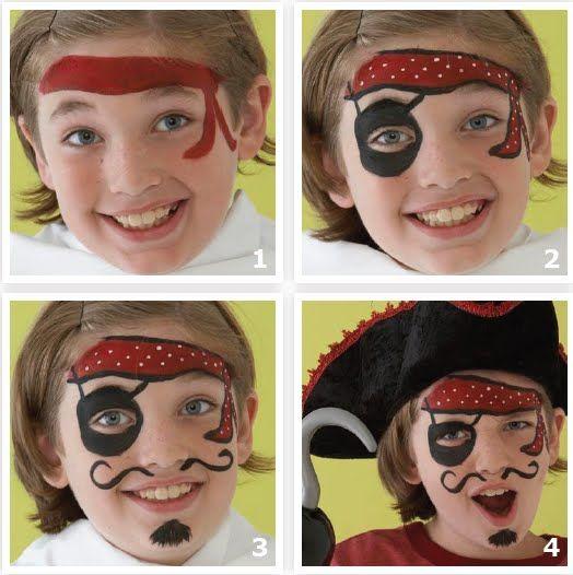 Worksheet. Ms de 25 ideas increbles sobre Maquillaje pirata en Pinterest