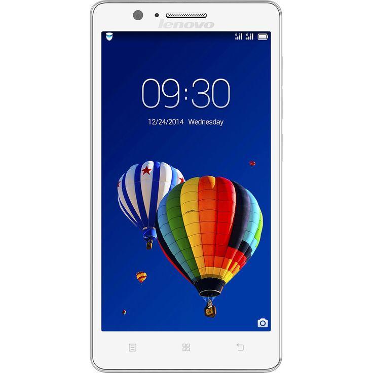Lenovo A536 mobiltelefon, Kártyafüggetlen, Dual SIM, 8GB, Fehér