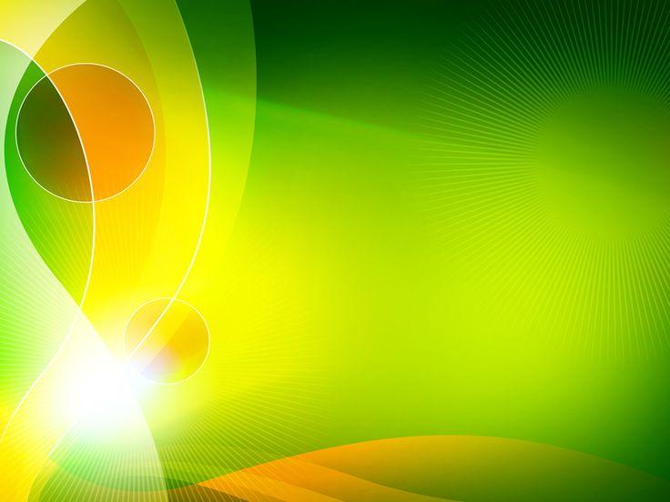 Green Swoosh PPT Backgrounds Template for Presentation PPT di 2020 Dengan gambar
