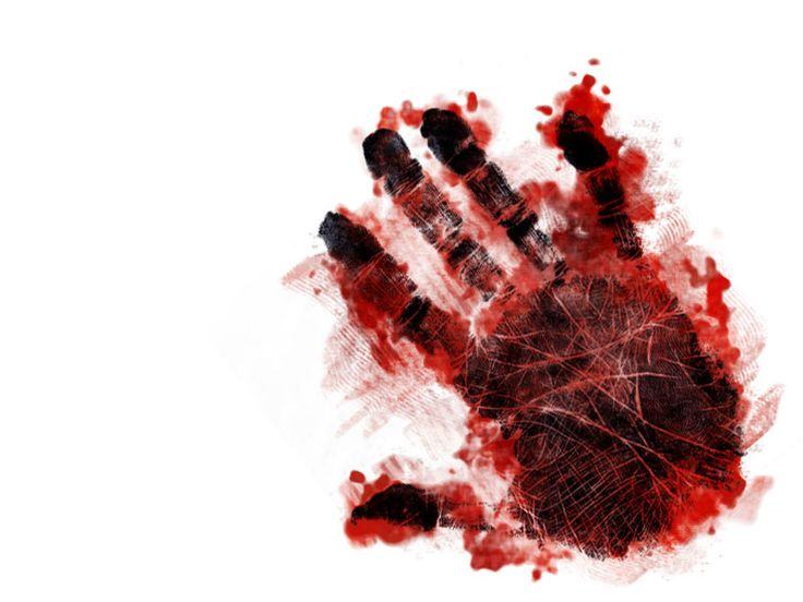 bloody handprint no background wwwpixsharkcom images