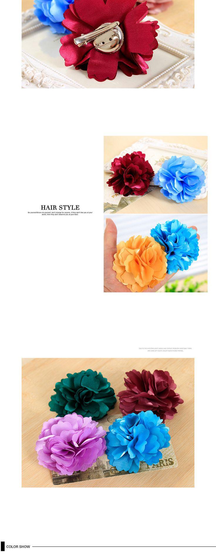 Летний стиль различные цвета цветами ленты шелковистые волосы клипы для девочек головные уборы аксессуары для женщин купить на AliExpress