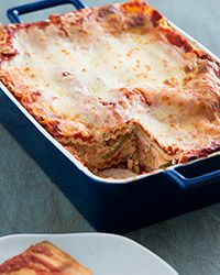 Easy Summer Squash Lasagna Recipe - Summer squash is a flavorful and bright addition to this easy-to-assemble lasagna. http://www.foodandwine.com/recipes/easy-summer-squash-lasagna