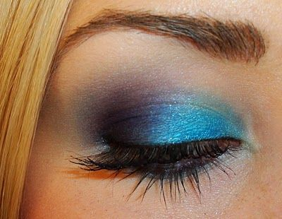 """Make-up by Tiffany D"".  Love her eye make-up tutorials!  She is on FB too.Mermaid Makeup, Makeup Tutorials, Eye Makeup, Eye Tutorial, Makeup Ideas, Mac Eyeshadow, Makeup Contouring, Blue Eyeshadows, Purple Eye"