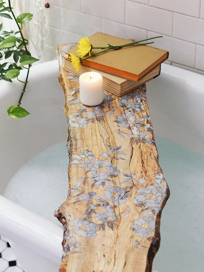 studioKMD - Flower Pressed Tub Board