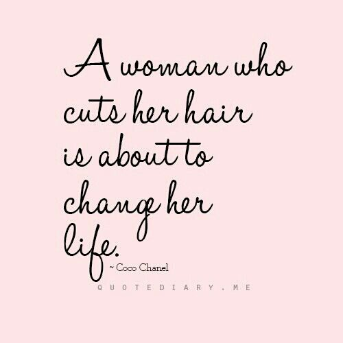 Girl Hairstyle Quotes : 96 best quotes on hair images pinterest