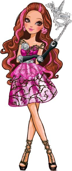 Briar Beauty Thronecoming Ever After High Illustration