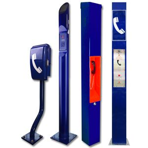 Polephones emergency telephones for roadside assistance