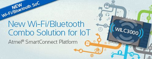 IOT ATMEL New Wi-Fi Solutions for IoT