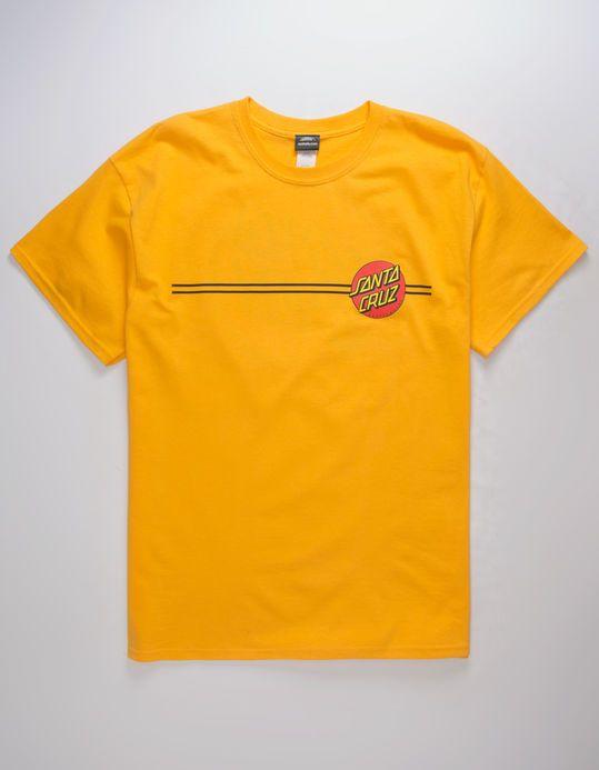 2490e6e65 SANTA CRUZ Classic Dot Yellow Mens T-Shirt | wants in 2019 | Santa ...