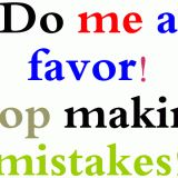 Collocations with do and make