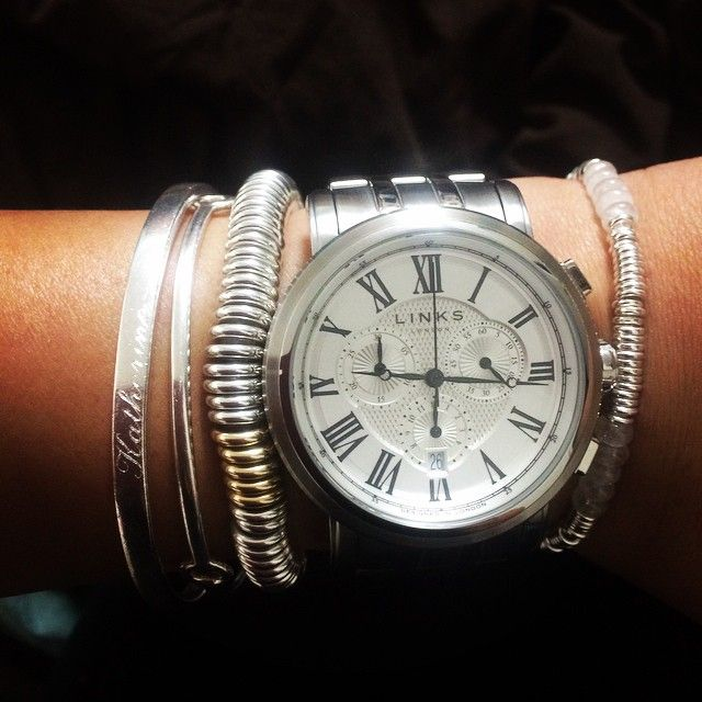 Links of London Richmond Watch Stack! Omg fricken love all of this❤️❤️❤️