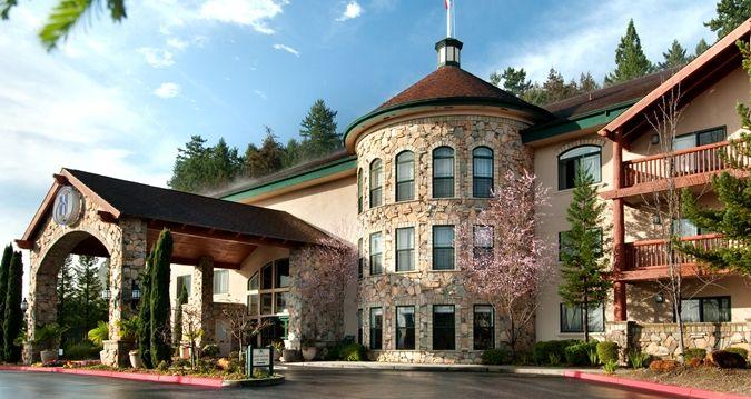 Hilton Santa Cruz Hotel in Scotts Valley