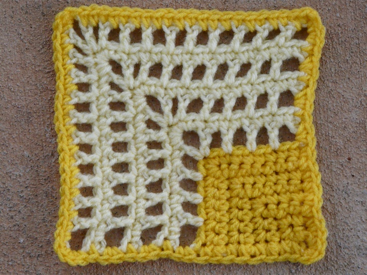 101 Crochet Stitches Jean Leinhauser : crochet Jean Leinhausers 101 Crochet Squares on Pinterest Crochet ...