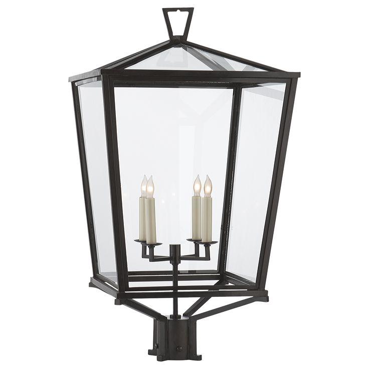 Visual Comfort CHO 7113BZ E. F. Chapman Darlana Outdoor Post Light in Bronze