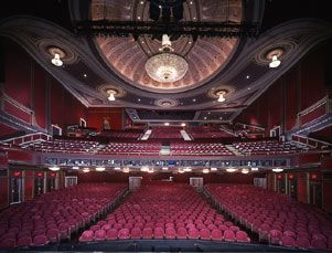 Broadway theatre interior