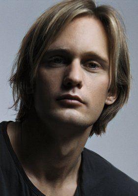 alexander skarsgard.   I like Eric with longer hair