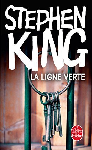 La ligne verte : le dernier grand livre de Stephen King, en fait, écrit avant son accident. L'adaptation cinématographique est parfaitement réussie.