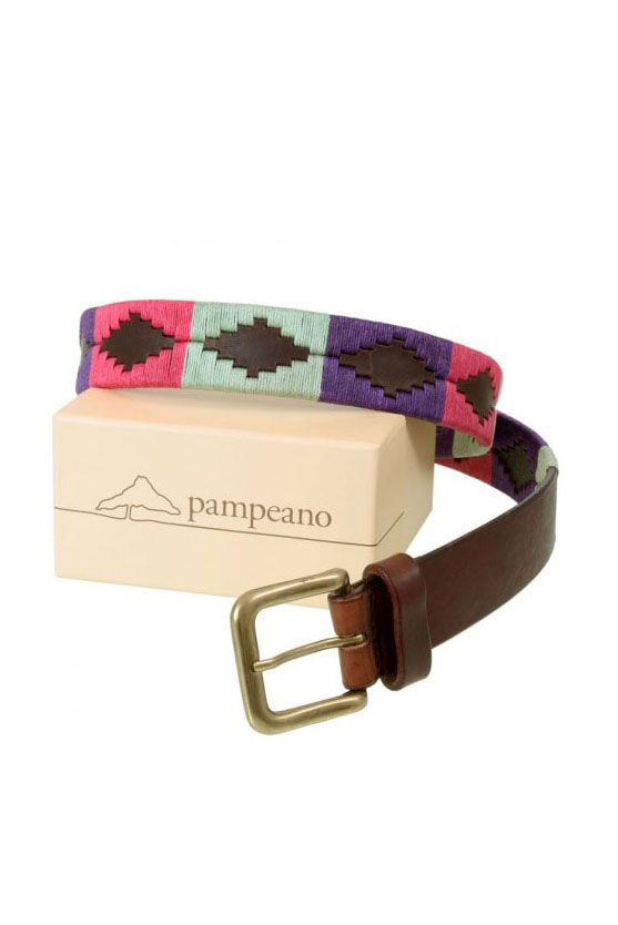 Gorgeous Escocia Belt - 3 colour polo belt made from think analine leather and tough brass buckle. Made in UK http://www.madecloser.co.uk/clothes-accessories/bags-accessories/escocia-belt