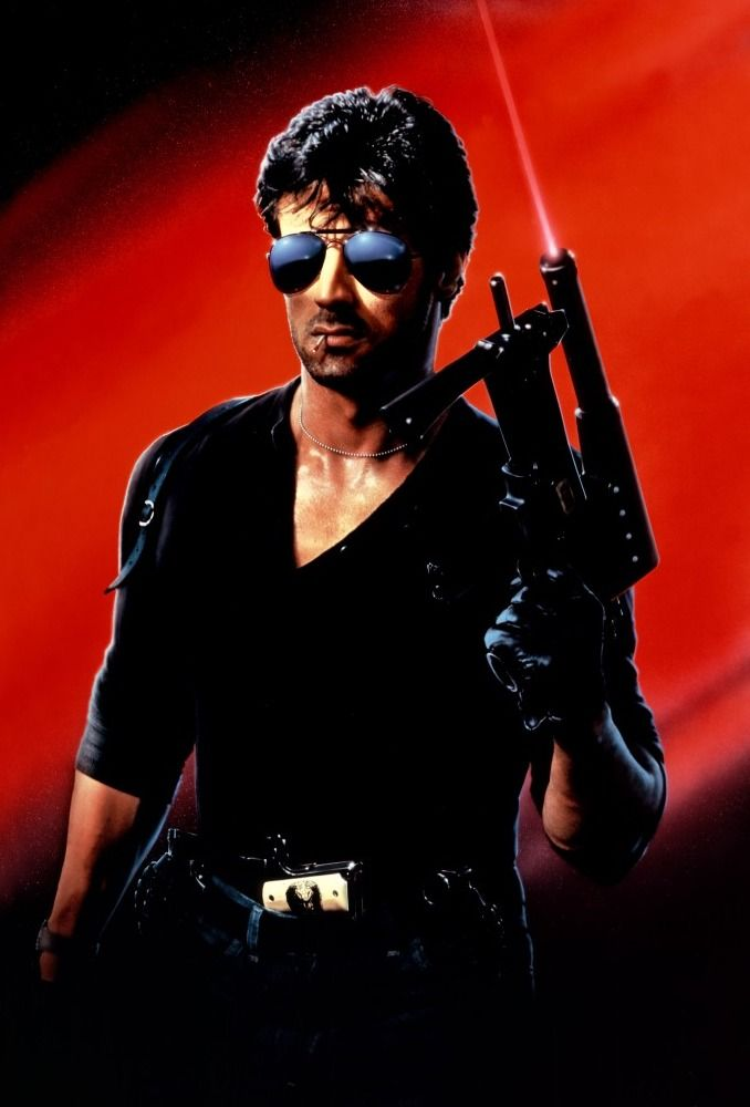 Sylvester Stallone (Cobra, 1986)