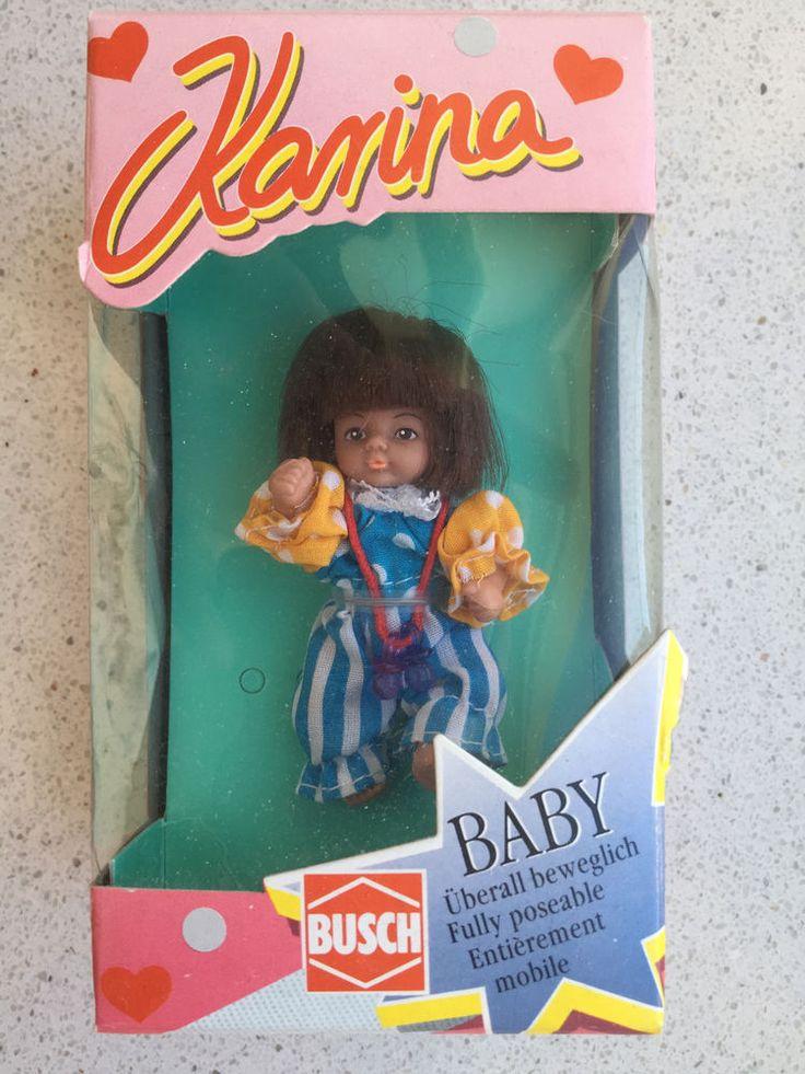 New BUSCH Baby Puppe Karina berall beweglich Puppenhaus NEU OVP Puppenstube eBay
