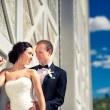 Formal wedding photography  Fort Edmonton Park  Edmonton wedding photographer