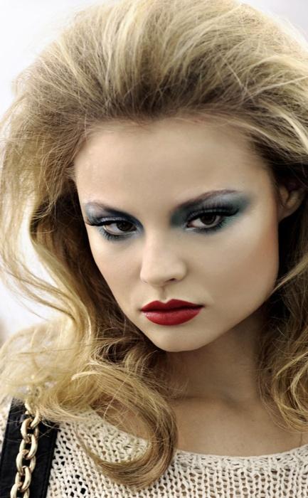 BLue eyeshadow. # makeup