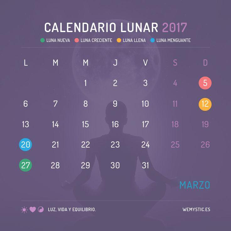 Las 25 mejores ideas sobre calendario lunar 2017 en for Proxima luna creciente