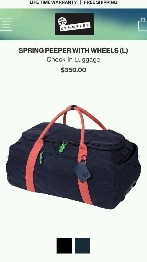 Crumpler bag
