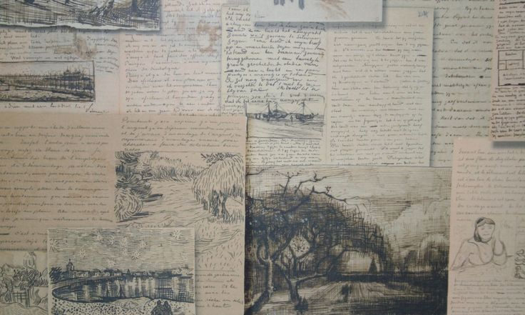 """Van Gogh letters. """"The sadness will last forever."""""""